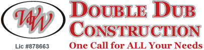 Double Dub Construction Logo
